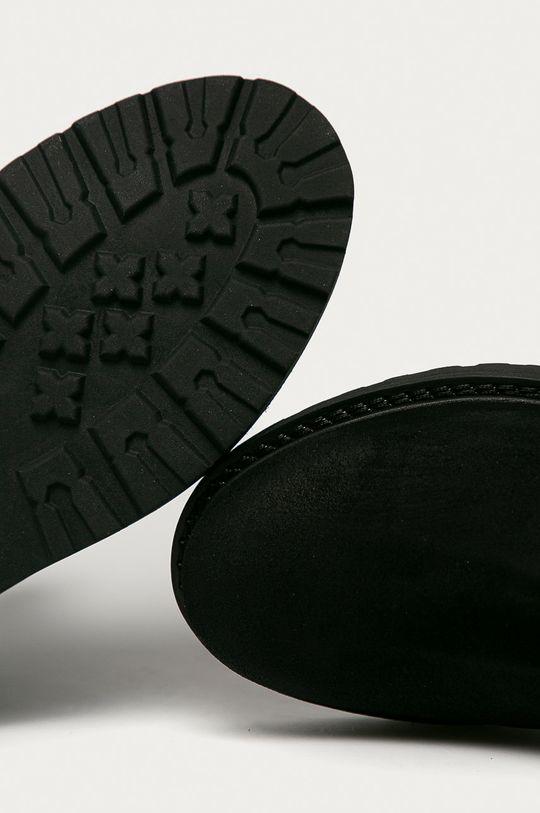 чёрный Tommy Jeans - Замшевые ботинки