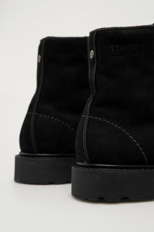 Tommy Jeans - Workery zamszowe Cholewka: Skóra zamszowa, Wnętrze: Materiał tekstylny, Skóra naturalna, Podeszwa: Materiał syntetyczny