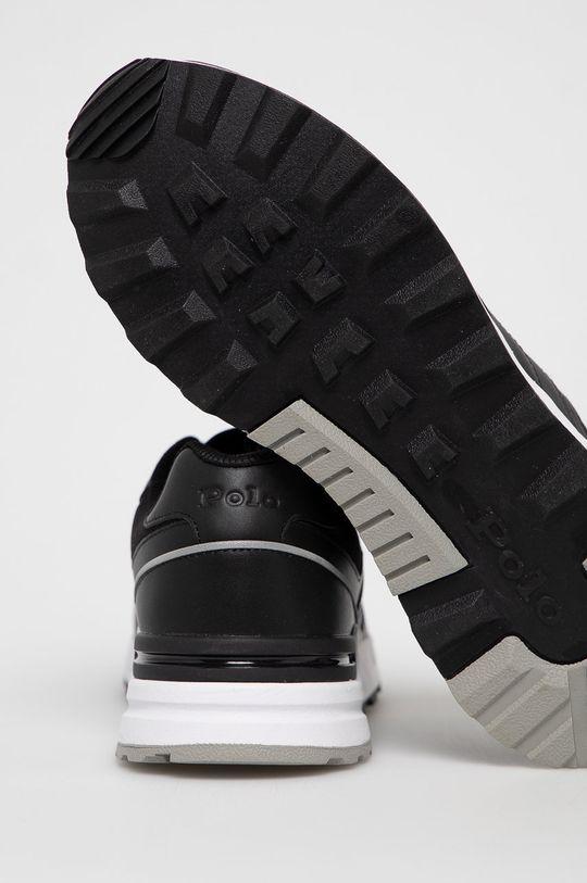 Polo Ralph Lauren - Buty skórzane Cholewka: Materiał tekstylny, Skóra naturalna, Wnętrze: Materiał tekstylny, Podeszwa: Materiał syntetyczny