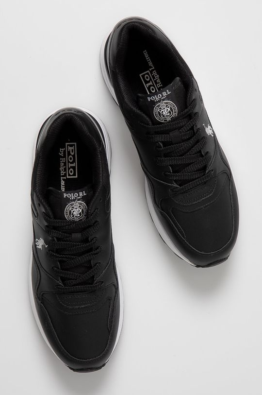 czarny Polo Ralph Lauren - Buty skórzane