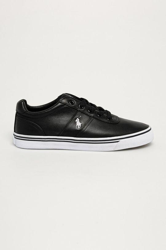 černá Polo Ralph Lauren - Kožené boty Pánský