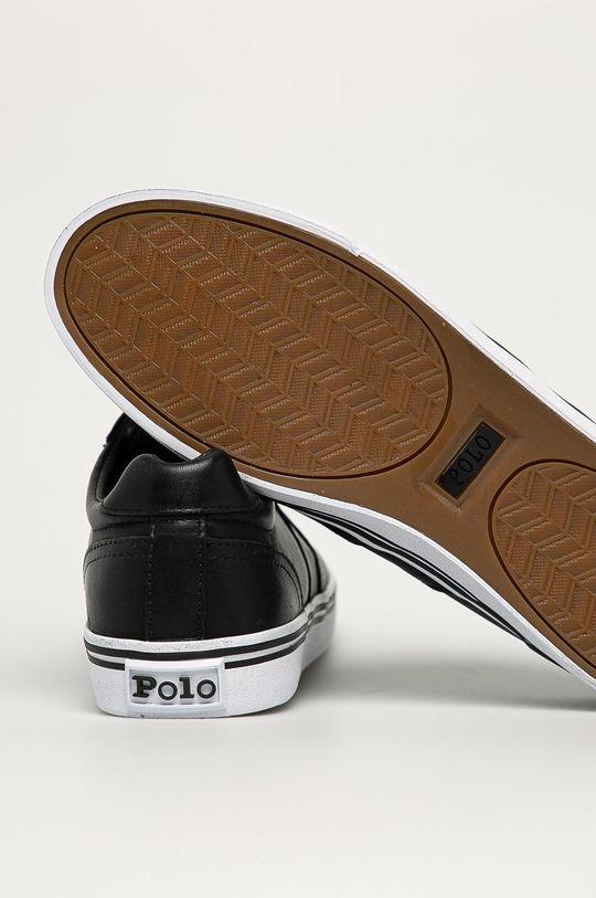 Polo Ralph Lauren - Kožené boty  Svršek: Přírodní kůže Vnitřek: Textilní materiál Podrážka: Umělá hmota