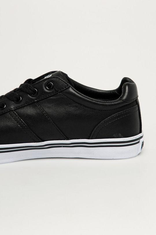 černá Polo Ralph Lauren - Kožené boty