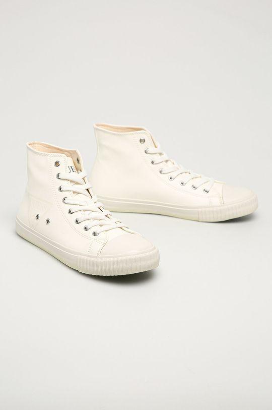 Guess Jeans - Tenisky biela