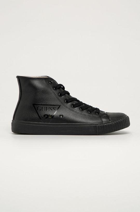 čierna Guess Jeans - Tenisky Pánsky