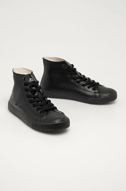 Guess Jeans - Tenisky čierna