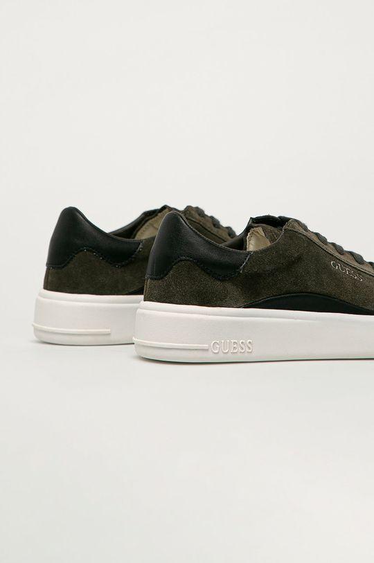 Guess Jeans - Semišové topánky  Zvršok: Syntetická látka, Semišová koža Vnútro: Syntetická látka, Textil Podrážka: Syntetická látka