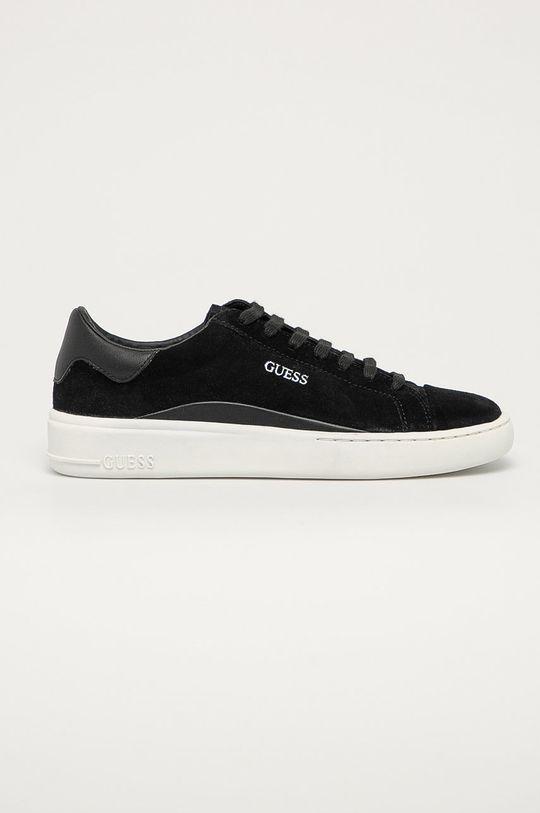 čierna Guess Jeans - Semišové topánky Pánsky