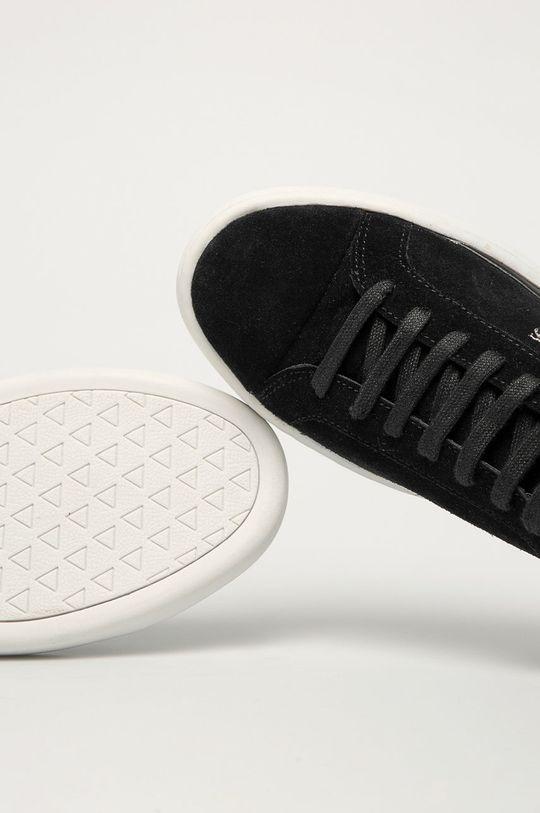čierna Guess Jeans - Semišové topánky