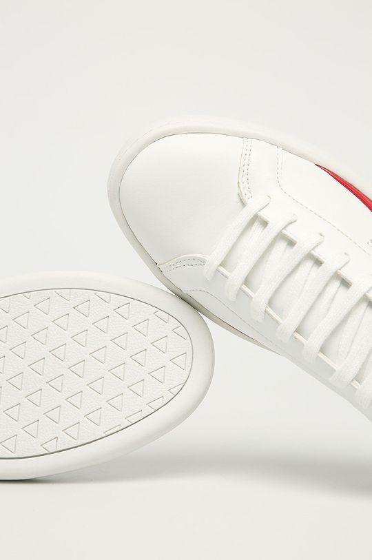 alb Guess Jeans - Pantofi