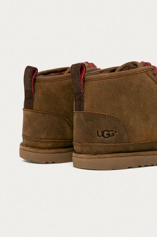 UGG - Kožené boty Neumel  Svršek: Přírodní kůže Vnitřek: Vlna Podrážka: Umělá hmota