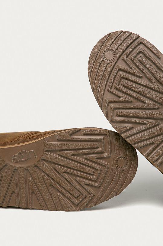 hnědá UGG - Kožené boty Neumel