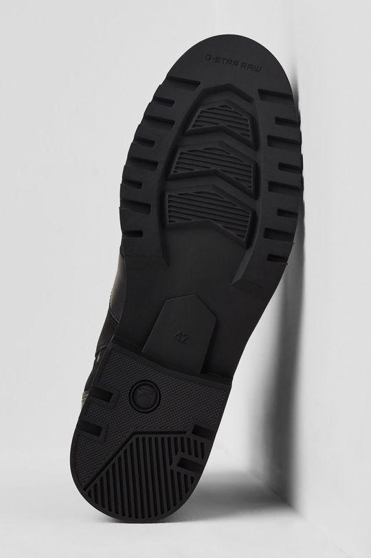 černá G-Star Raw - Kožené boty