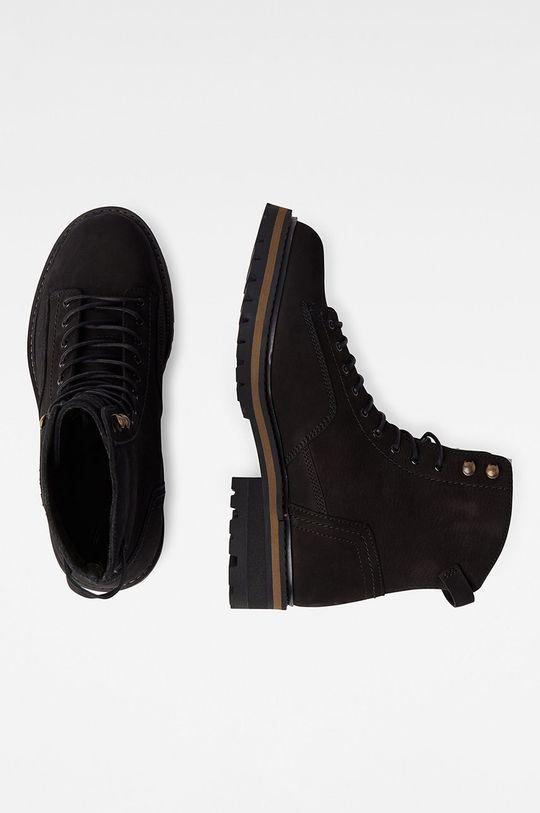 G-Star Raw - Kotníkové boty černá