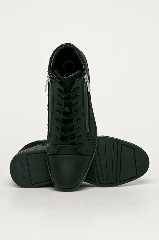čierna Calvin Klein - Topánky