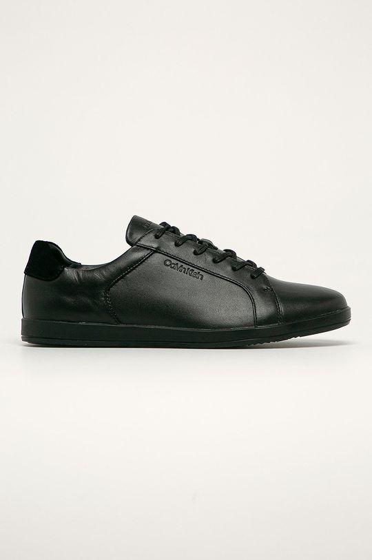 negru Calvin Klein - Ghete de piele De bărbați