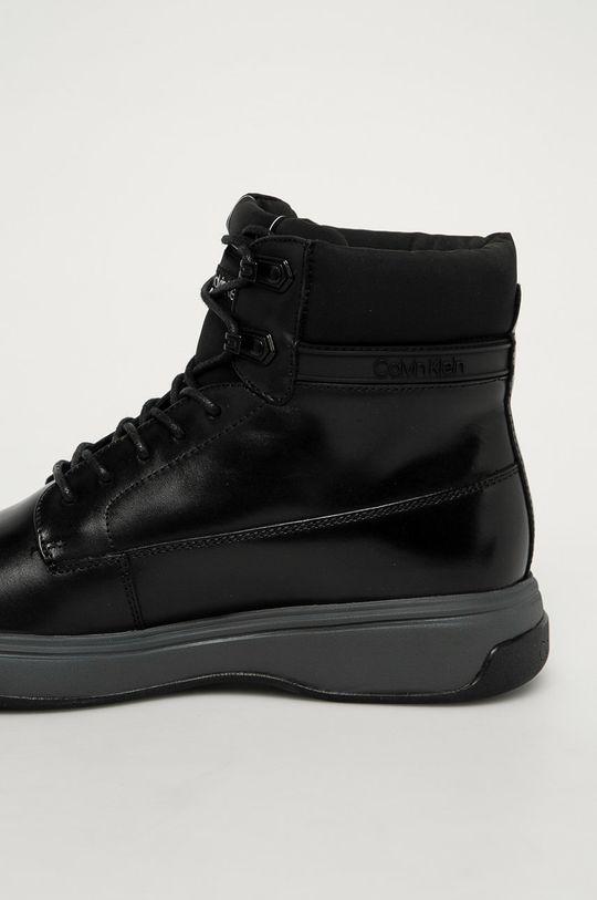 Calvin Klein - Kožené boty  Svršek: Přírodní kůže Vnitřek: Umělá hmota, Přírodní kůže Podrážka: Umělá hmota