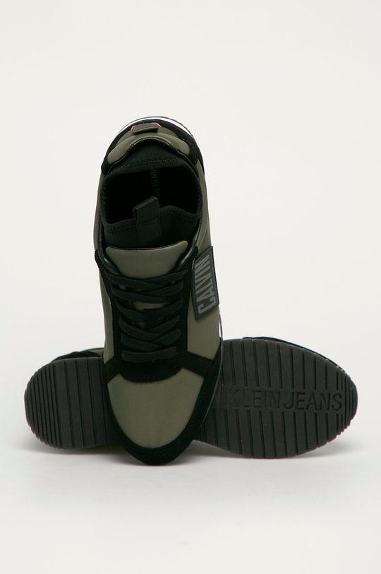 tmavě zelená Calvin Klein Jeans - Boty