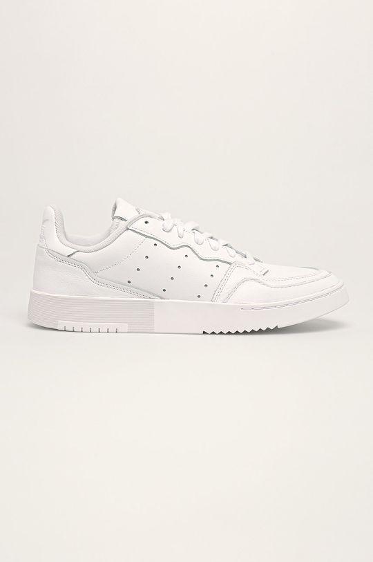 biały adidas Originals - Buty Supercourt Męski