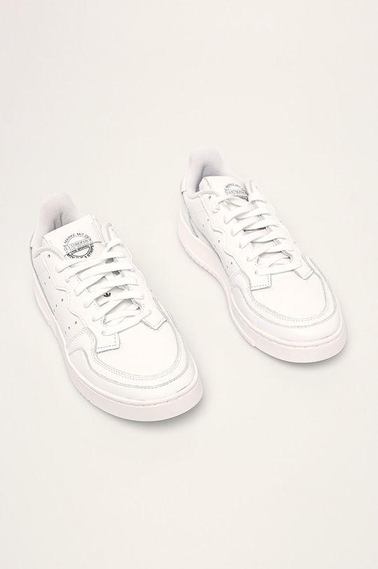 adidas Originals - Buty Supercourt biały