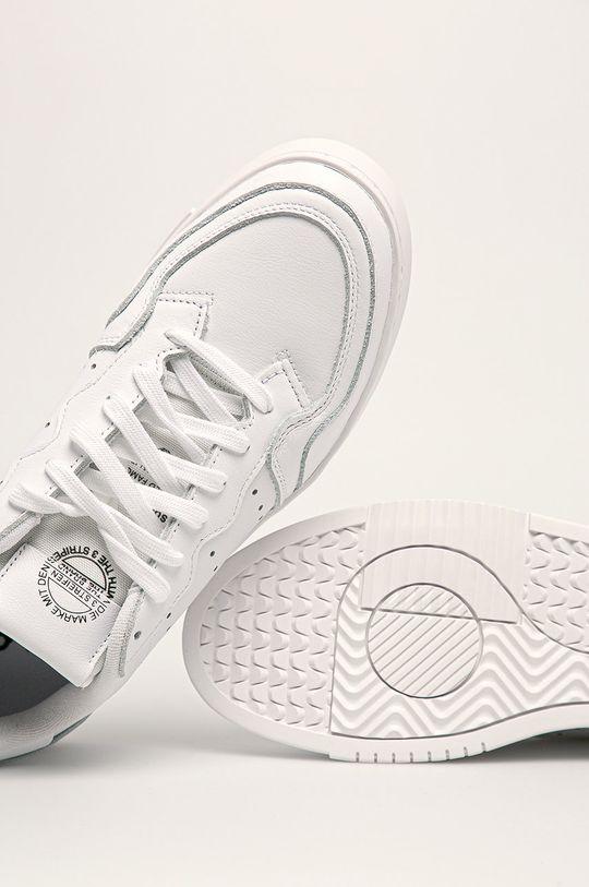 biały adidas Originals - Buty Supercourt