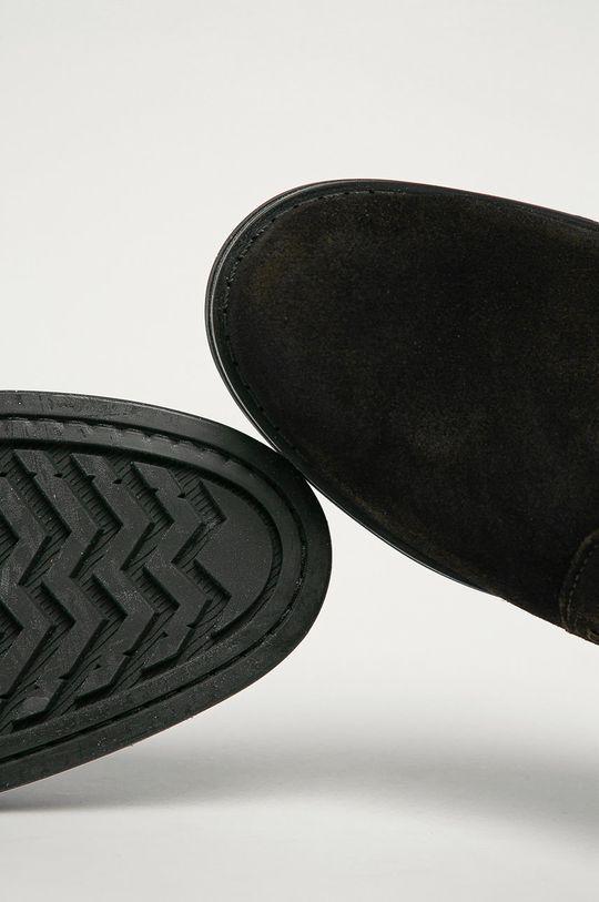 tmavě hnědá Gant - Kožené boty Brookly G46