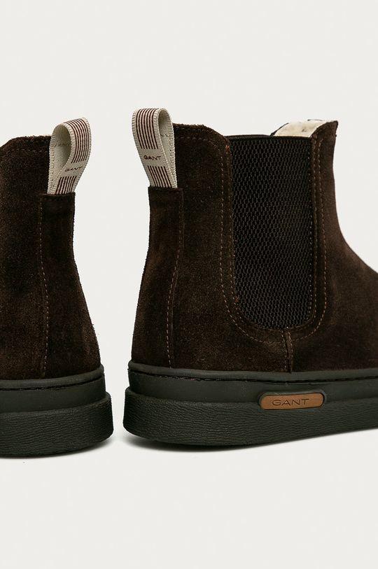Gant - Semišové kotníkové boty Cloyd  Svršek: Semišová kůže Vnitřek: Vlna Podrážka: Umělá hmota