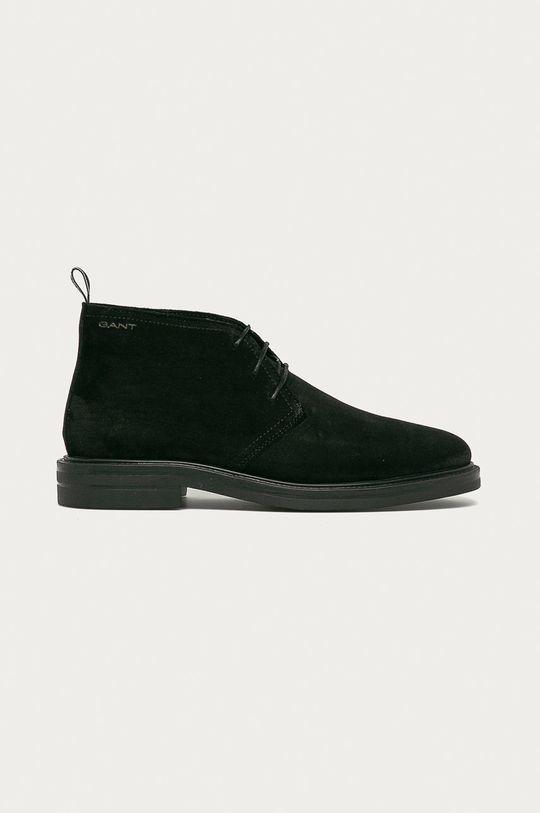 černá Gant - Semišové boty Kyree Pánský