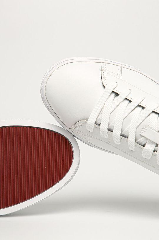 biały Gant - Buty skórzane Julien