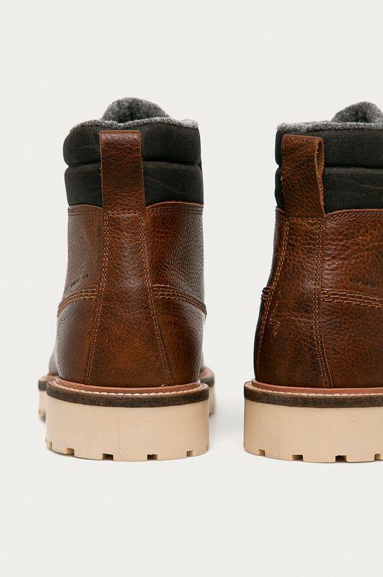 Gant - Kožené boty Roden  Svršek: Přírodní kůže Vnitřek: Textilní materiál Podrážka: Umělá hmota