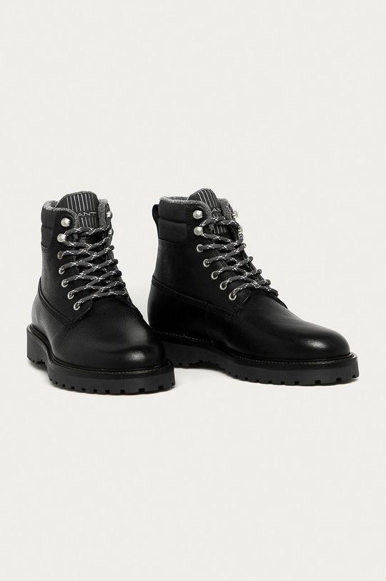 Gant - Kožené boty Roden černá