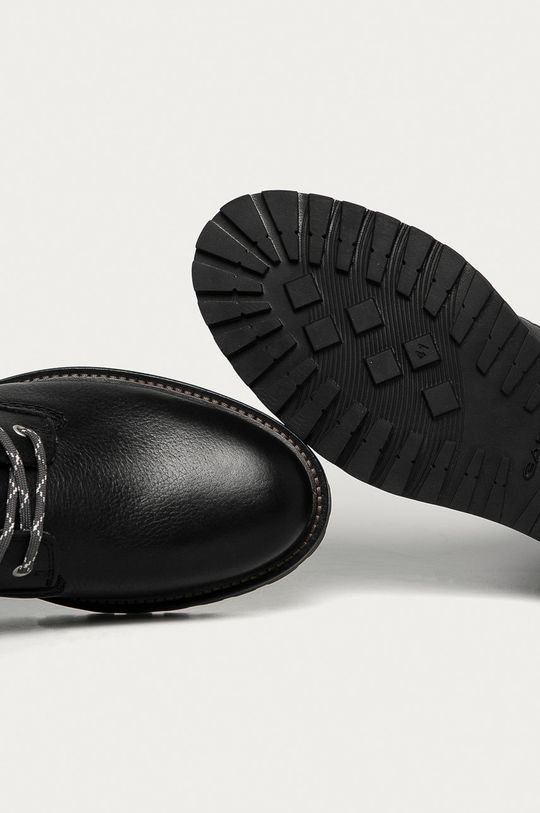 černá Gant - Kožené boty Roden