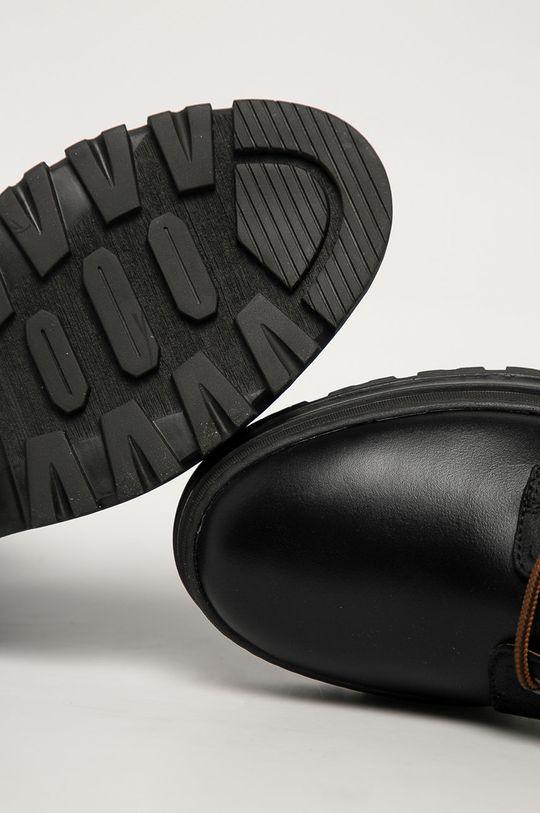 czarny Gant - Buty skórzane Grip