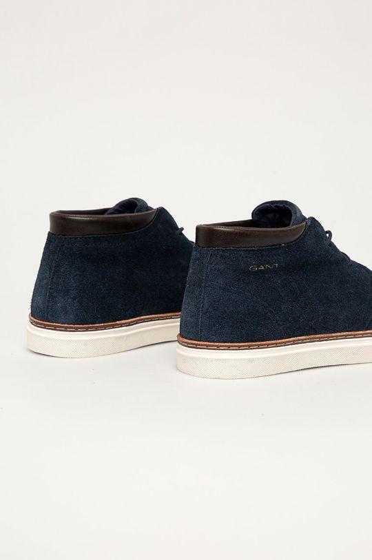Gant - Kožená obuv Prepville  Zvršok: Prírodná koža Vnútro: Textil, Prírodná koža Podrážka: Syntetická látka