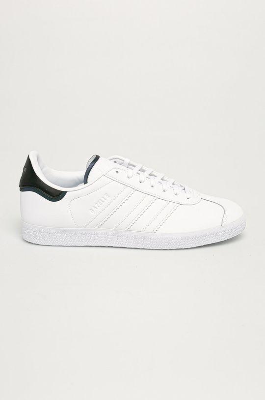 biały adidas Originals - Buty Gazelle Męski
