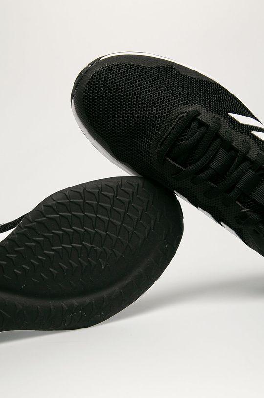 czarny adidas - Buty Fluidstreet