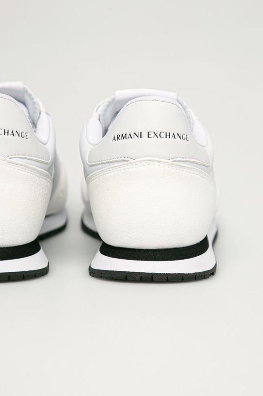 Armani Exchange - Boty  Svršek: Umělá hmota, Textilní materiál