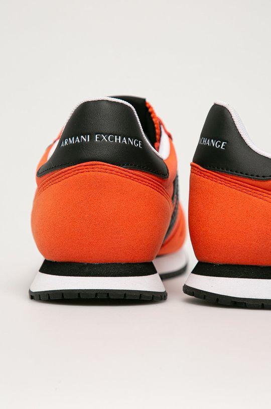 Armani Exchange - Topánky  Zvršok: Syntetická látka, Textil