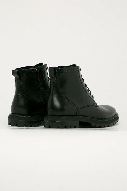 černá Vagabond - Kožené boty Johnny