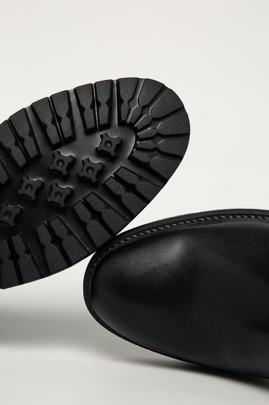černá Vagabond - Kožené kotníkové boty Johnny