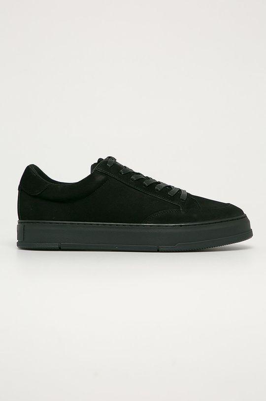 čierna Vagabond - Kožená obuv John Pánsky