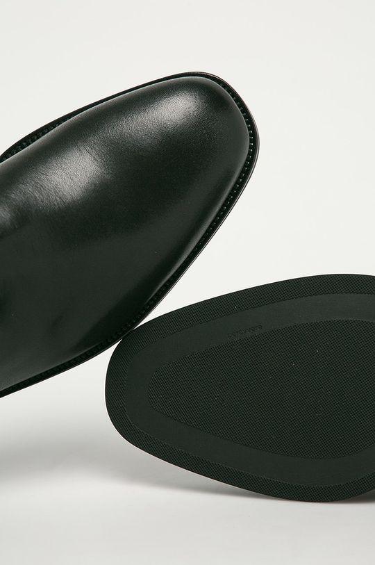 czarny Vagabond - Sztyblety skórzane Percy