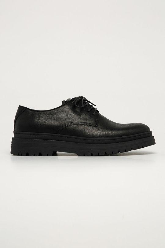 negru Vagabond - Pantofi de piele James De bărbați