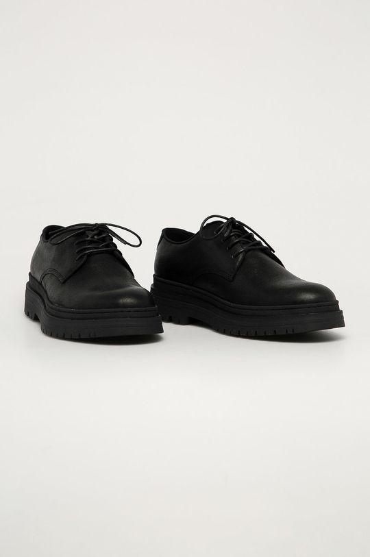 Vagabond - Pantofi de piele James negru