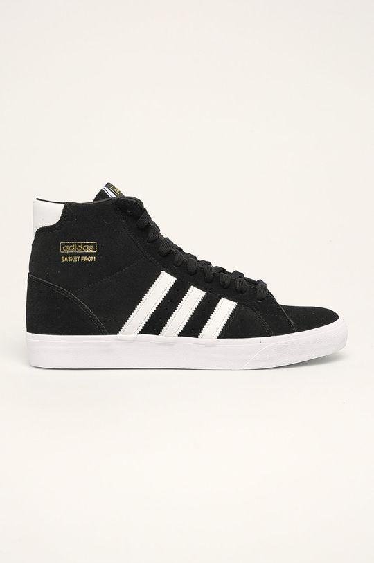 černá adidas Originals - Boty Basket Profi Pánský