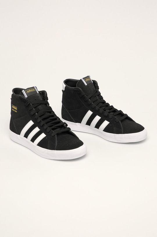 adidas Originals - Boty Basket Profi černá