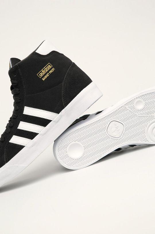 černá adidas Originals - Boty Basket Profi