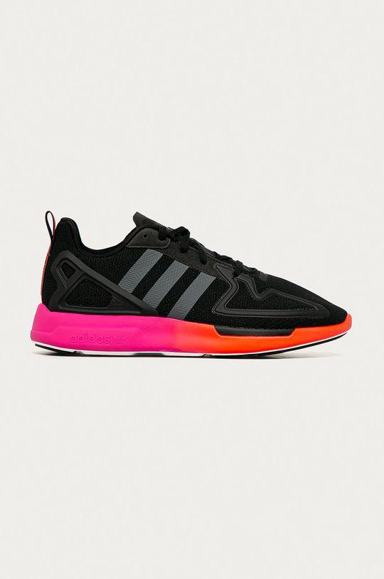 čierna adidas Originals - Topánky ZX 2K Flux Pánsky