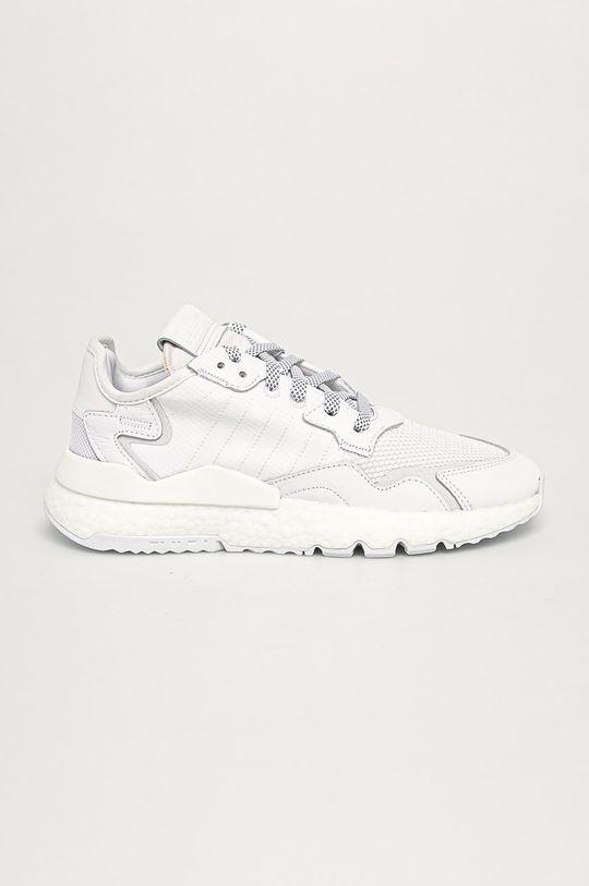 biały adidas Originals - Buty Nite Jogger Męski