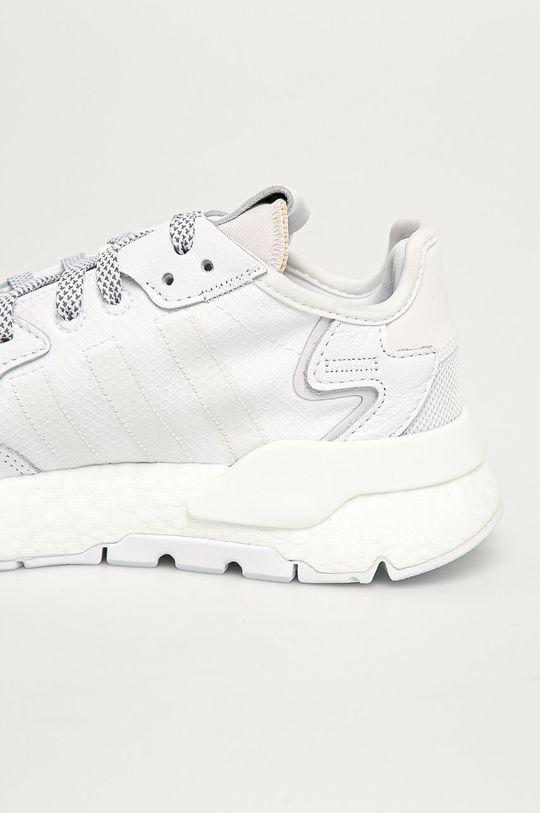 biały adidas Originals - Buty Nite Jogger